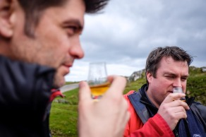 tasting whisky