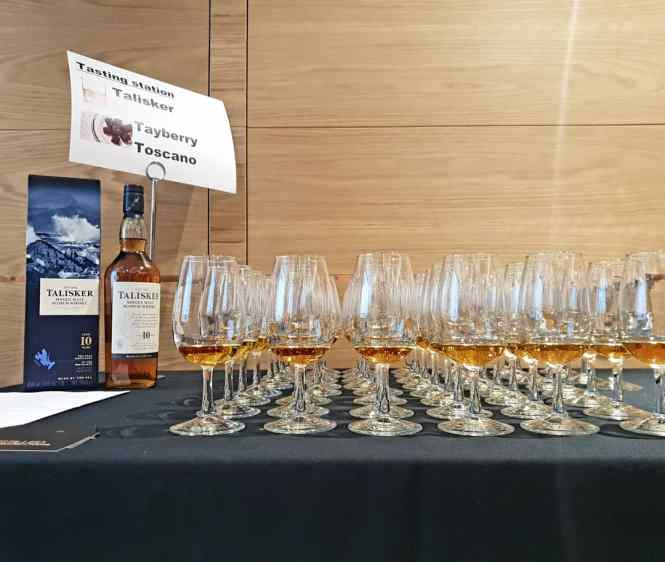 London whisky tasting